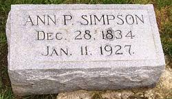 Ann Priscilla Powell Simpson (1834-1927) - Find A Grave Memorial