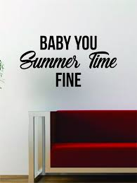 J Cole Baby You Summer Time Fine Quote Decal Sticker Wall Vinyl Art Mu Boop Decals