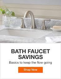 bathroom faucets bath the home depot