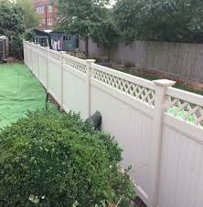 Pvc Fencing Privacy 4 Ft X 6 Ft Wide Vinyl Plastic Fence Panel Set 90 00 Picclick Uk