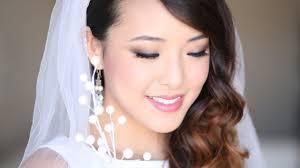 bridal makeup tutorial for monolids