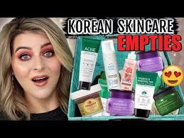 korean skincare empties vol 1