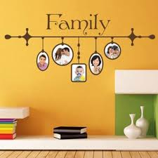 Family Picture Frame Ii Wall Decal Style And Apply