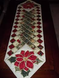 stained glass tablerunner