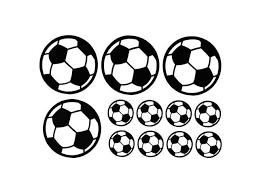 12pcs Set Football Soccer Wall Stickers Children Nursery Kids Room Decals Gift Home Decorations Newegg Com
