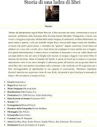 Storia di una ladra di libri - PDF Download gratuito