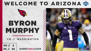Cardinals Select Byron Murphy In Round 2