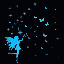 Enchanted Glow Decals Glow In The Dark Fairy Wall Decal Sticker Picture Perfect Home Decor