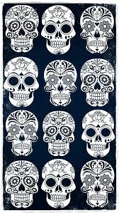 skull wallpapers iphone on