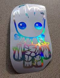 Baby Groot Oil Slick Neo Chrome Holograp Buy Online In Trinidad And Tobago At Desertcart