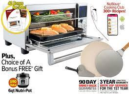 nuwave bravo xl air fryer oven the