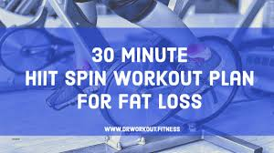 30 minute hiit spin workout plan for