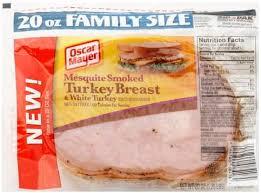 oscar mayer mesquite smoked turkey