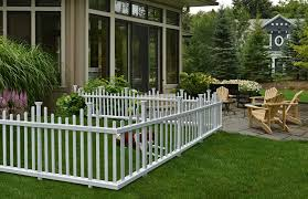 Amazon Com Zippity Outdoor Products Zp19001 Madison Vinyl Picket Fence White 30 X 56 1 Box 2 Panels Garden Outdoor