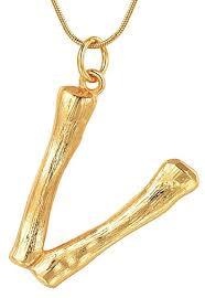 the best celine alphabet necklace dupes