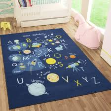 Sweethome Kids Collection Space And Alphabet Design Kids Are Rug Walmart Com Walmart Com