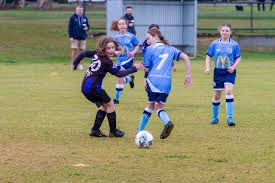 SSide V Sharks Soccer Addison Mattews spies opportntity with SS Abigail  Marshall - Geelong Times