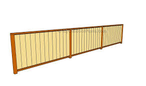 How To Build A Wood Fence Myoutdoorplans Free Woodworking Plans And Projects Diy Shed Wooden Playhouse Pergola Bbq