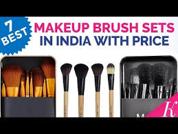 7 best makeup brush sets in india with