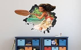 Moana Decor Posters Decals Wall Art Plush Dolls