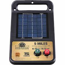 American Farmworks 5 Mile Solar Low Impedance Charger Esp5m Afw At Tractor Supply Co