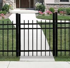 Hudson 3x6 Aluminum Fence Panel Aluminum Fence Freedom Outdoor Living For Lowes