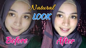 tutorial make up natural harian simpel