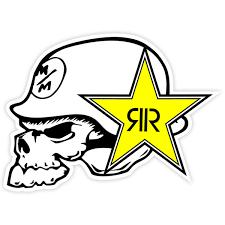 Sticker Logo Metal Mulisha Rockstar Muraldecal Com