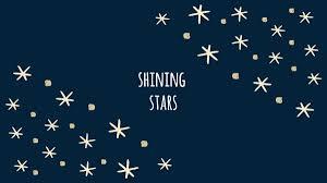 shining stars desktop wallpaper