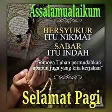 √ ucapan selamat pagi islami lucu r tis motivasi