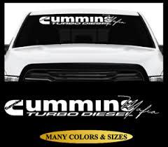 Windshield Vinyl Decal Sticker Cummins Mafia Banner Truck Fits Dodge Ram 2500 Ebay