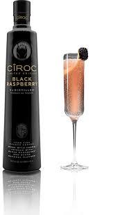 black raspberry royale vodka drinks