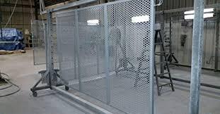 Amazon Com Palmshield 4 X 8 Perforated Metal Panel Gray Industrial Scientific
