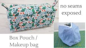 box pouch no seams exposed you