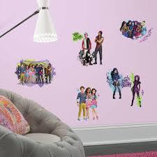 Roommates Decor Descendants Animated Peel And Stick Wall Decals Walmart Com Walmart Com