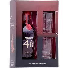 mark 46 bourbon whiskey gift set