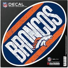 Denver Broncos Car Stickers Sticker Sets Broncos Car Sticker Official Denver Broncos Shop