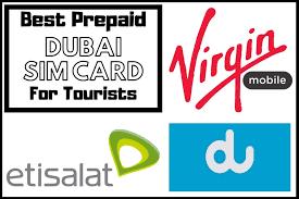 best prepaid dubai sim card for