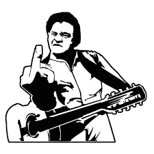 For Johnny Cash Sticker Vinyl Decal Man In Black Folsom Prison Country Gospel Various Sizes Car Stickers Aliexpress