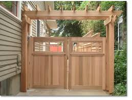 Creative Fences Deck Portland Or Wood And Iron Gates Wood Fence Gates Backyard Gates Wooden Gates