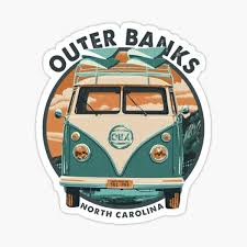 Outer Banks North Carolina Stickers Redbubble