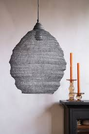 beehive metal mesh pendant light