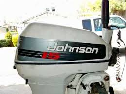 1956 johnson 15 hp short shaft outboard