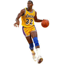 Magic Johnson Los Angeles Lakers Fathead Life Size Removable Wall Decal