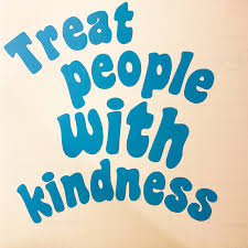 Treat People With Kindness Vinyl Decal The Color Depop