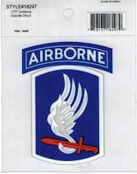 Eagle Crest 173rd Airborne Brigade Sky Soldiers Outside Car Decal Sticker Pack Of 2 Clear 4x3 Walmart Com Walmart Com