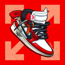 red and white jordan shoes wallpapers