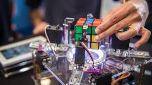 rubik s cube solving robot