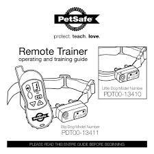 Download Pdt00 13411 Big Dog Remote Trainer Manual Petsafe