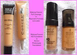makeup forever concealer color for
